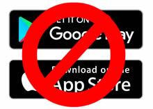 no appstores web app